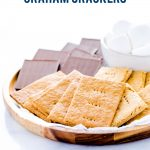 Gluten Free Graham Crackers image with text for Pinterest